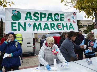 Fotos de la Marcha Aspace 2018 en Logroño (La Rioja)