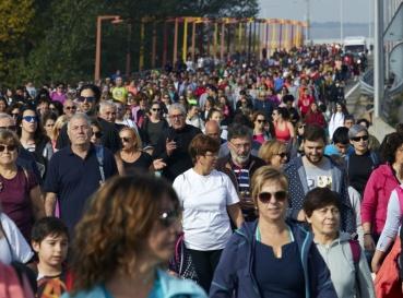 Fotos de la Marcha Aspace 2019 en Logroño (La Rioja)