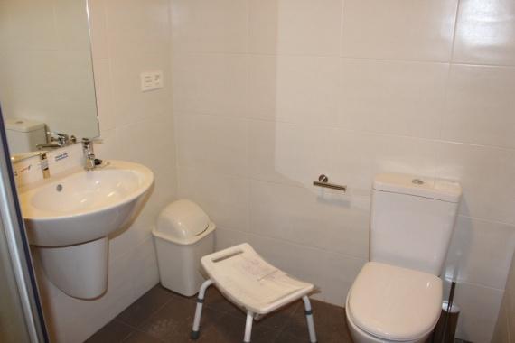 proyecto de viviendas especializadas Baño